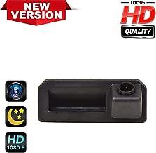 Rear Reversing Backup Camera Rearview License Plate Camera Night Vision Ip68 Waterproof for VW Polo Sedan/Vento/Bora/Jetta/Sagitar/Rapid/Audi Q2/ Audi A5/ Cayenne/Audi Q5L /KODIAQ、Skoda KAROQ