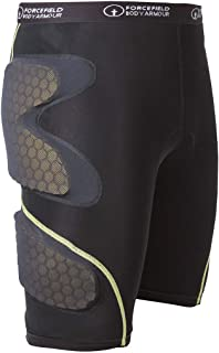 Forcefield Body Armour Contakt Shorts with Armor (Large) (Black)