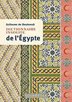 Dictionnaire insolite de l'Egypte de Guillaume de Dieuleveult Guillaume