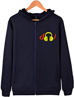 Wxf Womens Relax The Djs Here Classic Travel Black Hoodie