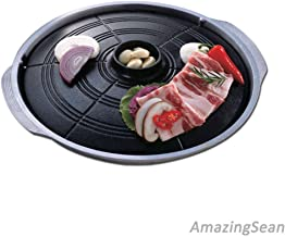 New Korean BBQ Grill, Stovetop Barbecue, Table Top BBQ, Indoor Barbecue Grill, Pan