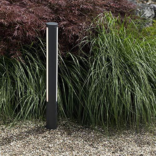 HEITRONIC Elegante Desgin Aluminium Wegeleuchte LED Standleuchte LILIA 25W schwarz 1,25m