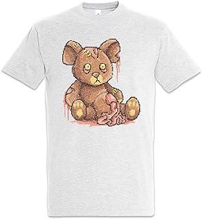 Urban Backwoods Pixel Zombie Teddy Camiseta De Hombre T-Shirt