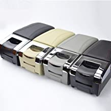 Para Nissan Juke ESQ 2014-2017 Apoyabrazos Caja de almacenamiento Coches Reposabrazos Central Gris