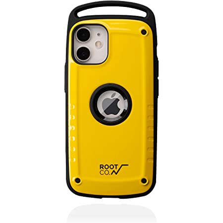 【ROOT CO.】[iPhone 12 mini専用]ROOT CO. GRAVITY Shock Resist Case Pro. (イエロー)