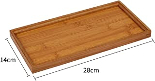 Bamboo Tray Tea Tray Hotel Restaurant Rectangular Bamboo Fruit Bowl Tea Cup Holder Coffee Cup Tray Plate