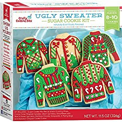 Ugly sweater sugar cookie decorating kit