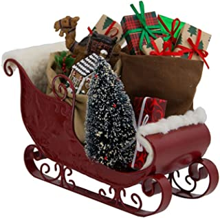 Byers' Choice Ltd. Sleigh Filled with Toys #3809 from The North Pole Caroler Figurine Collection
