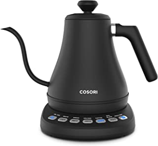 COSORI Electric Gooseneck Kettle with 5 Variable Presets, Pour Over Coffee Kettle &..