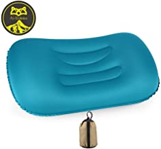 Ai-Uchoice Inflatable Camping Pillow Ultralight Backpacking Blow Up Pillow - Compact and Compressible Neck Lumbar Support for Sleeping While Hiking, Travel, Camp,Beach