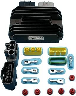 Tuzliufi Replace Voltage Regulator Rectifier Kawasaki Ninja ZX6R ZX 6R ZX-6R ZX10R ZX 10R ZX-10R ABS Z1000 ZX600R ZX636 ZX 600R 636 99999-0377 21066-0028 21066-0731 21066-0730 21066-0716 New Z217