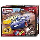 Carrera-GO Rayo Mcqueen, Dinoco Cruz Circuito de Coches Disney Pixar Cars-Radiator Springs de 5,3 m, Escala 1:43, Multicolor (20062446)