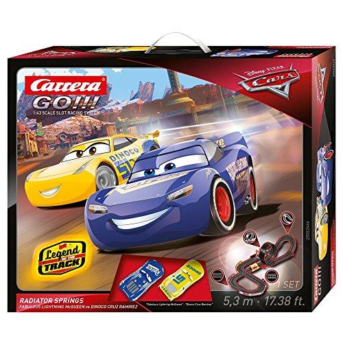 Carrera GO!!! - Rayo Mcqueen, Dinoco Cruz Disney·Pixar Cars - Radiator Springs Circuito de Coches (Carrera 20062446)