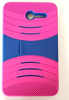 """Alcatel OneTouch PIXI 7"""" Case,BNY-WIRELESS (TM) Rugged High Impact Hybrid Drop Proof Armor Defender Full-body Protection C..."""