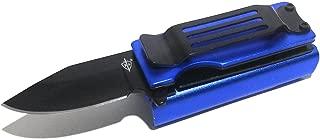 KS Lighter Holder With Spring Assist Knife Lighter Case (Lighter Not Included) (Blue)