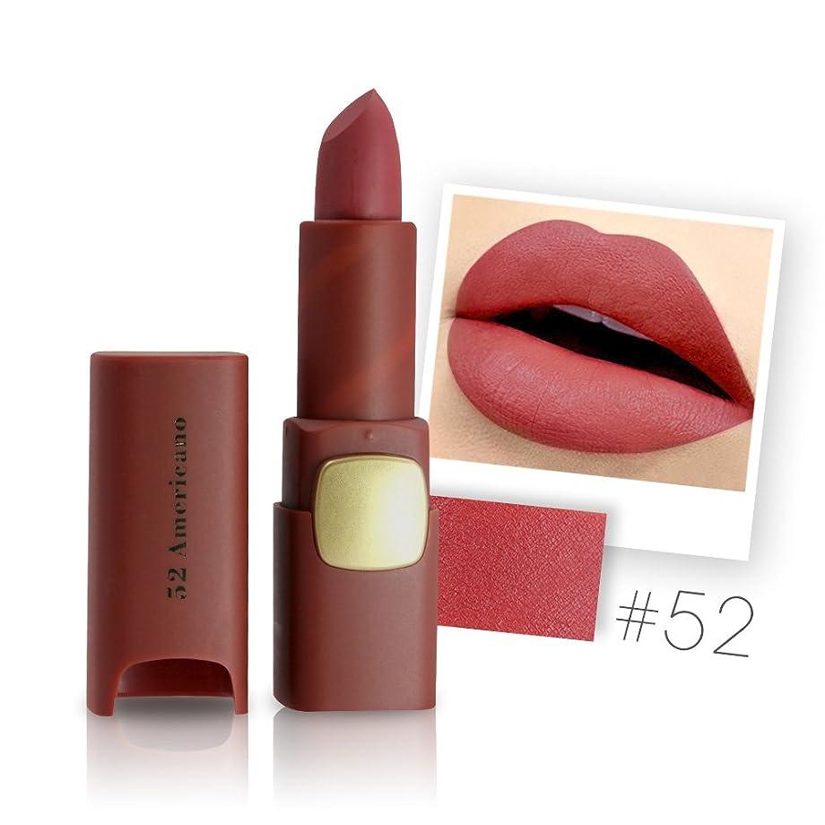 ナットキャンプファブリックMiss Rose Brand Matte Lipstick Waterproof Lips Moisturizing Easy To Wear Makeup Lip Sticks Gloss Lipsticks Cosmetic