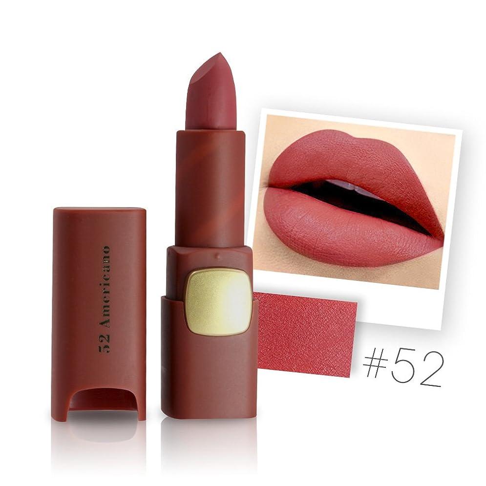 退屈没頭する無効にするMiss Rose Brand Matte Lipstick Waterproof Lips Moisturizing Easy To Wear Makeup Lip Sticks Gloss Lipsticks Cosmetic