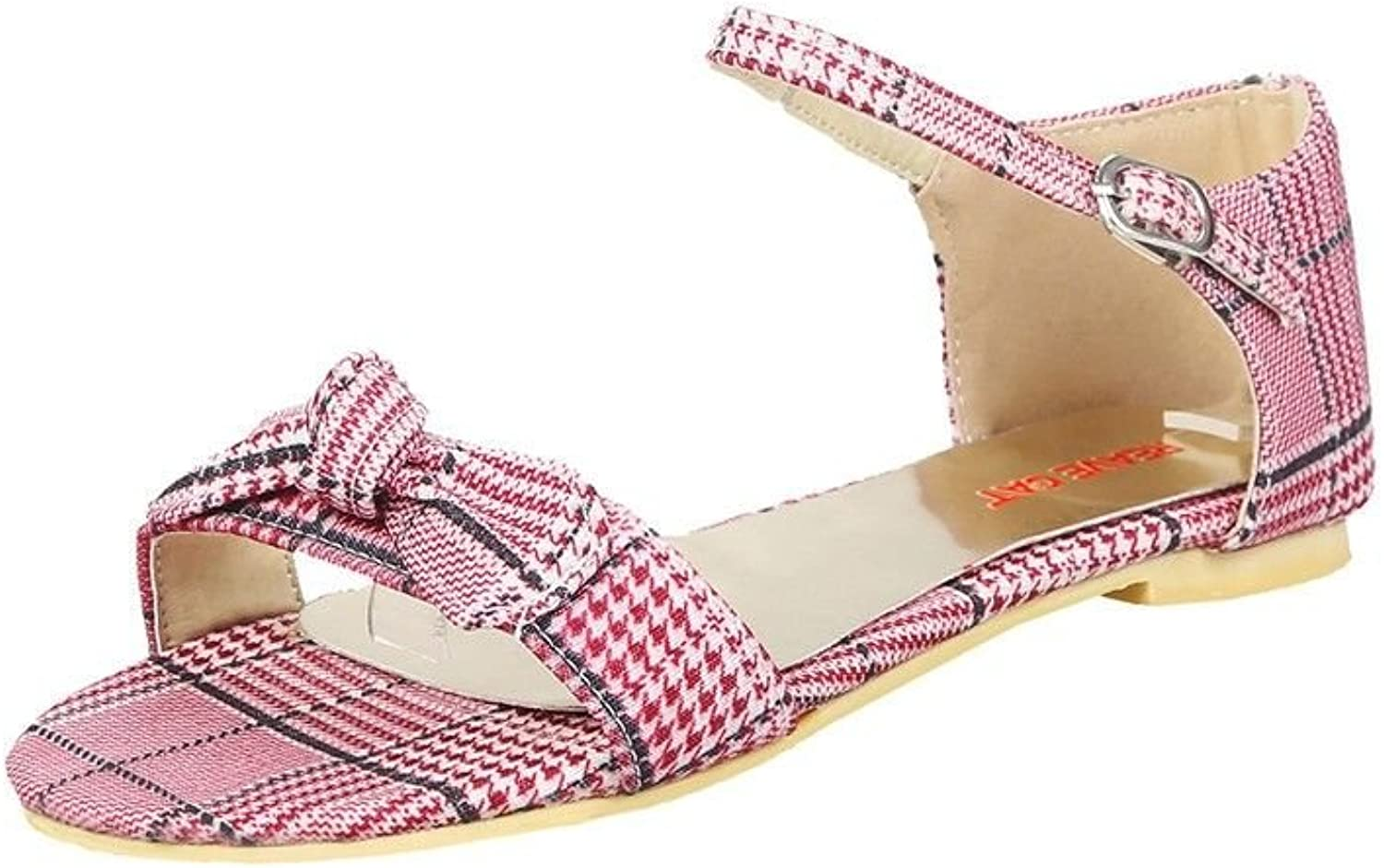 Summer Sweet Slotted Flat Base Student Beach shoes, Sandals