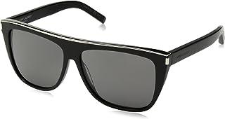 13c0752b352 Saint Laurent SL1 COMBI 001 Black SL1 COMBI Pilot Sunglasses Lens Category  3 Si
