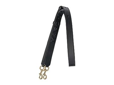 Marc Jacobs Debossed Leather Strap (Black) Handbags