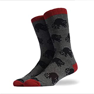 BADTE@R Socke 3 Pairs Autumn Winter Full Cotton Men Art Socks Harajuku Novelty Cute Cartoon Animal Funny Happy Unisex Streetwear Male Socks Gifts