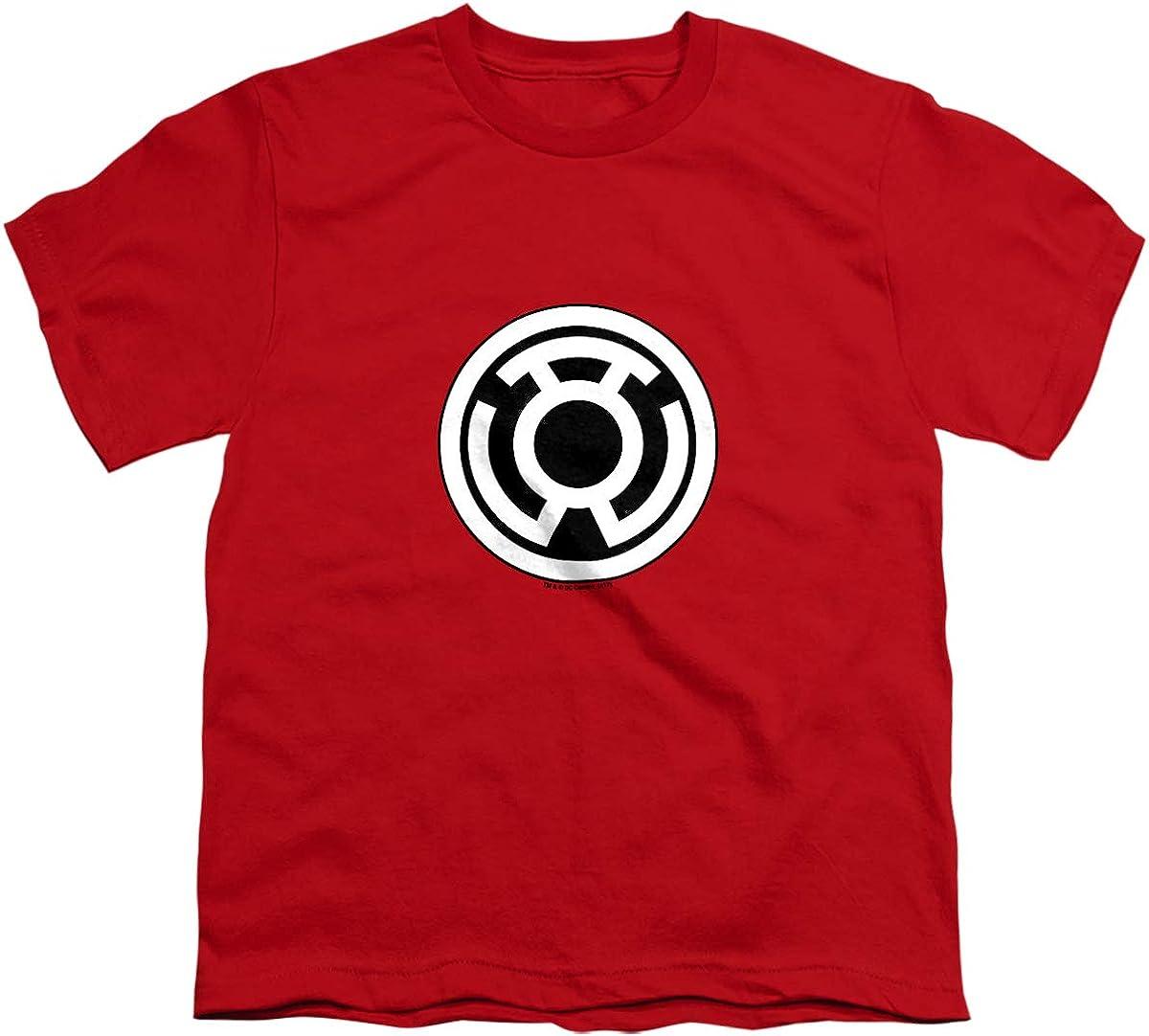 Green Lantern Sinestro Corps Logo Unisex Youth T Shirt, Red, X-Large