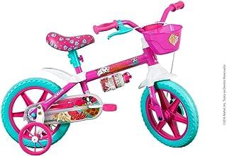Barbie Caloi Bicicleta Infantil Infantil 12 polegadas, Caloi