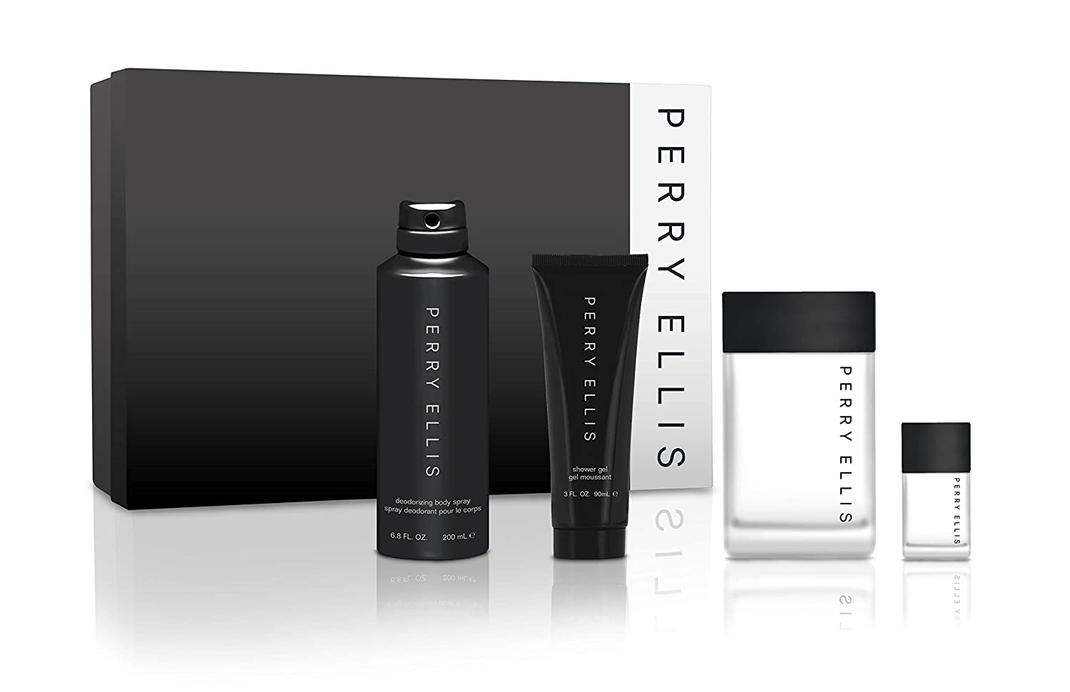 Perry Ellis Fragrances ellis for Ranking integrated 1st place men 3 gift Tampa Mall 4-piece - set