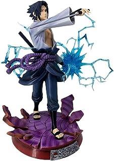 Verkligt och roligt Naruto Uchiha Sasuke Anime Figurer 29cmtoys Shippuden Chidori Action Figures Sasuke Brinquedos Collect...
