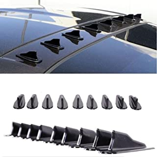 35.4inch LEIWOOR Universal Black Rubber,Rear Bumper Protector Guard,Scratch-Resistant Trunk Door Entry Guards Accessory Trim Cover for Car