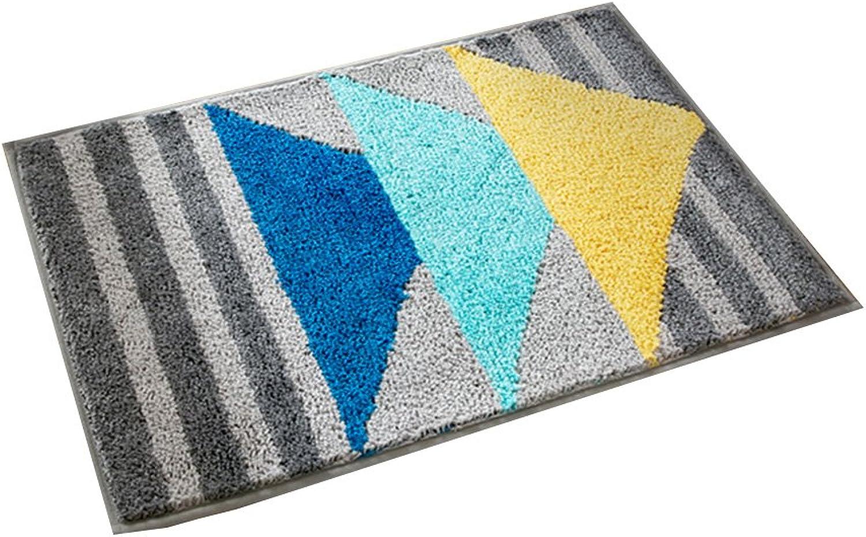 XUERUI Doormats Barrier MAT Door MAT Rubber Backed Medium Runner Barrier MATS Rug 2 Sizes 4 Styles (color   1, Size   45cm65cm)