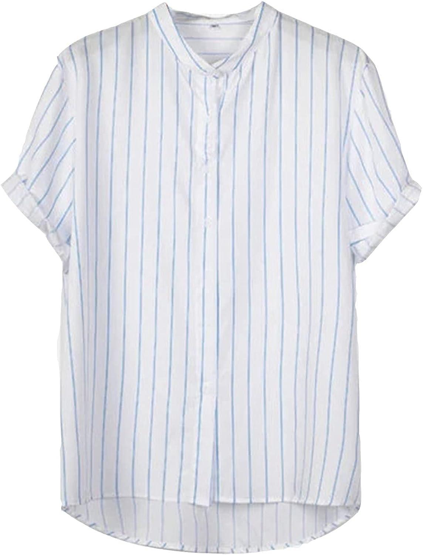 Summer Hawaiian Shirts for Men Short Sleeve Flower Aloha Beach Shirt Mens Casual Button Down Shirts