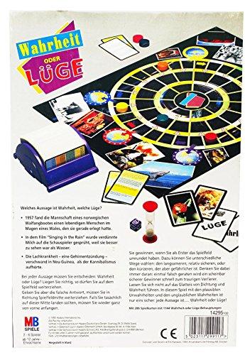 Gesellschaftsspiel lustiges Partyspiel Wahrheit oder Blödsinn Quizfragen