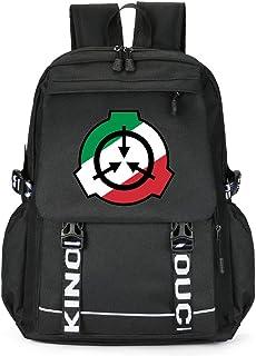 SCP Foundation Laptop Backpack, Travel College Bag for Women & Men, College School Bookbag