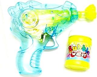 لعبة مسدس الفقاعات للاطفال مع اضاءة ليد- متعدد الالوان