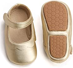 infant gold mary jane shoes