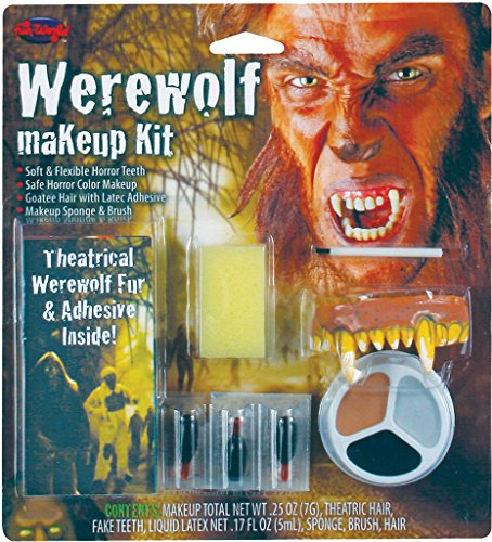 Warewolf Makeup kit Halloween Make Up Costume