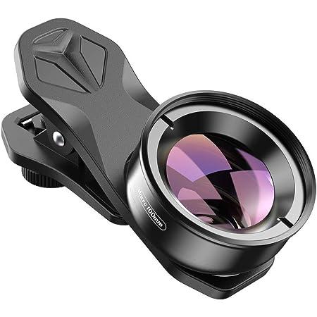 APEXEL Lente de fotografía macro profesional para lentes duales/lente única iPhone, píxel, Samsung Galaxy Smartphones