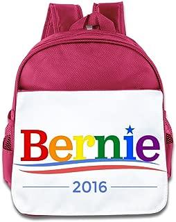 Bernie Sanders Logo Rainbow Gay Pride Backpack Children School Bag RoyalBlue