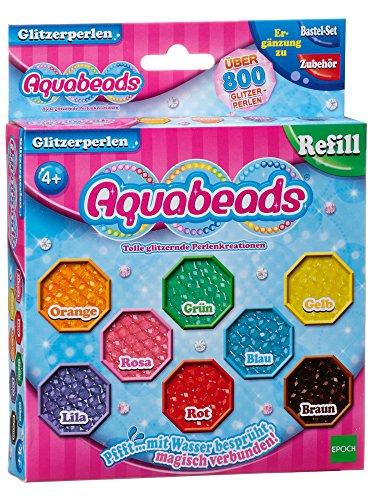 Aquabeads 79378 Glitzerperlen - Nachfüllset