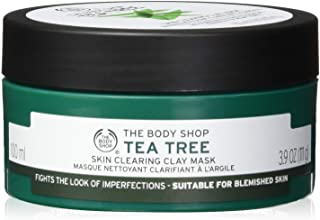 The Body Shop Tea Tree Skin Clearing Clay Face Mask, 3.85 Oz