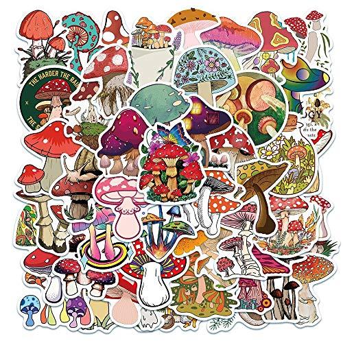 100PCS 10/30 / 50pcs Planta Linda Stickroom Pegatina Cuaderno Cuaderno Caja de Equipaje PVC Pegatina Decorativa Graffiti al por Mayor estéticas (Color : 50PCS)
