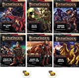 Bundle of Pathfinder (P2) Complete Adventure Path Age of Ashes 1 to 6 Plus Two Treasure Chest Buttons