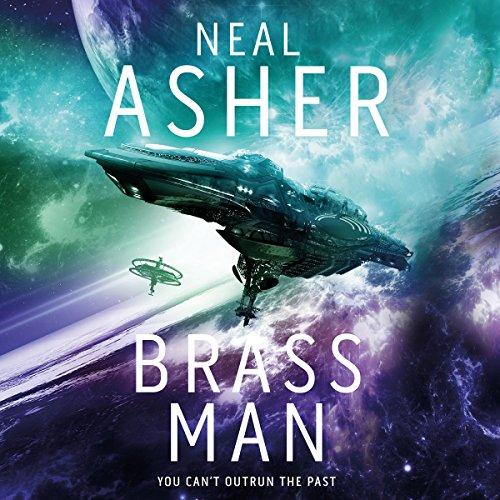 Brass Man audiobook cover art