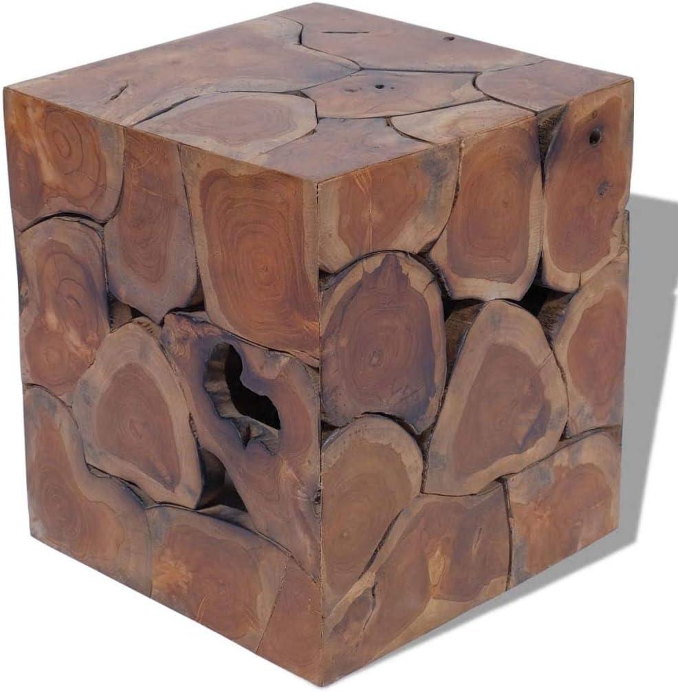 EstaHome Garden Stool Ranking TOP20 Wooden Square Ranking TOP6 Rustic Decorative