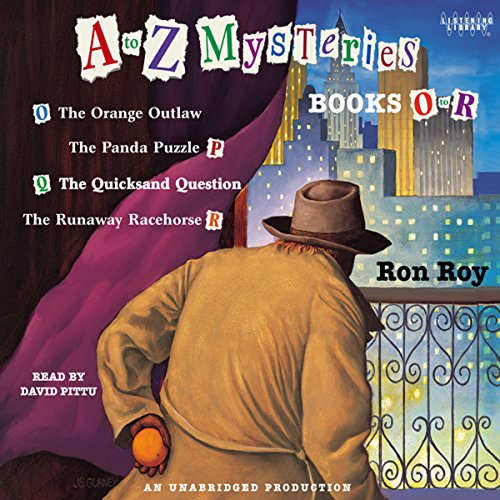 A to Z Mysteries: Books O-R audiobook cover art