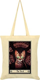 Deadly Tarot Felis - The Devil Cream Tote Bag 38 x 42cm
