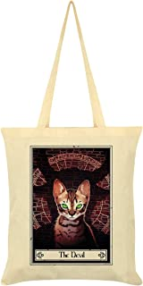 Deadly Tarot Felis - The Devil Cream Tote Bag 38 x 42cm