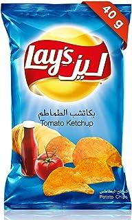 Lays Tomato Ketchup Potato Chips, 40 gm