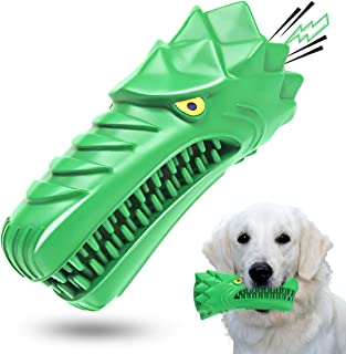 Dog Toys,Dog Chew Toys for Aggressive Chewers Large Medium Breed Indestructible Squeaky Tough Durable Interactive Dog Toot...